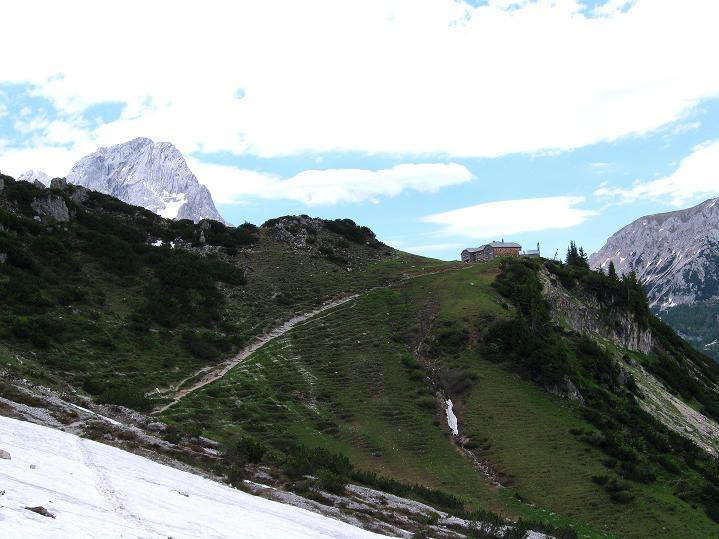 Foto: Andreas Koller / Wander Tour / Normalroute auf die Große Bischofsmütze (2459 m)  / Hofpürglhütte und Torstein (2948 m) / 16.06.2009 23:20:02
