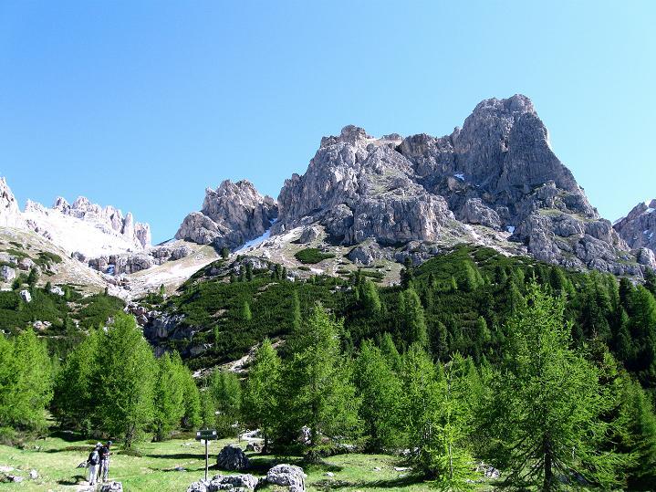 Foto: Andreas Koller / Klettersteig Tour / Via ferrata Col dei Bos / Via ferrata della Piramide (2559m) / 19.06.2009 23:42:55