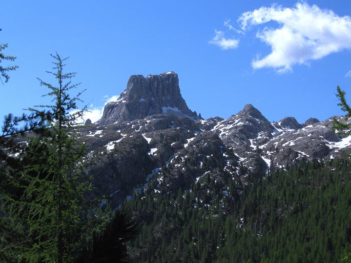 Foto: Andreas Koller / Klettersteig Tour / Via ferrata Col dei Bos / Via ferrata della Piramide (2559m) / Averau (2649 m) / 19.06.2009 23:42:41
