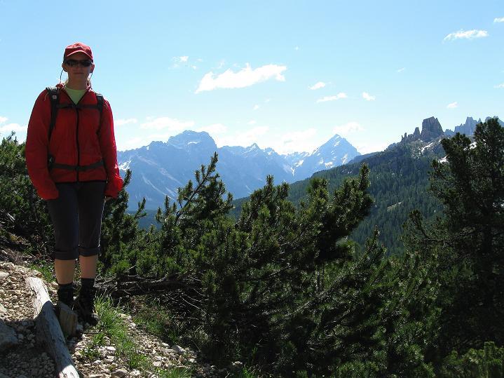 Foto: Andreas Koller / Klettersteig Tour / Via ferrata Col dei Bos / Via ferrata della Piramide (2559m) / 19.06.2009 23:42:20
