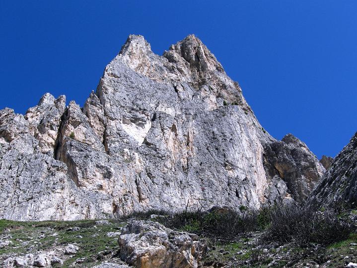 Foto: Andreas Koller / Klettersteig Tour / Via ferrata Col dei Bos / Via ferrata della Piramide (2559m) / Falzaregotürme / 19.06.2009 23:41:29