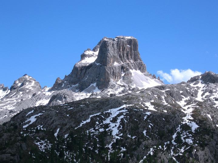 Foto: Andreas Koller / Klettersteig Tour / Via ferrata Col dei Bos / Via ferrata della Piramide (2559m) / Averau (2649 m) / 19.06.2009 23:21:46