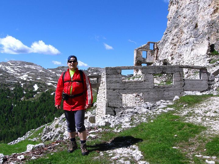 Foto: Andreas Koller / Klettersteig Tour / Via ferrata Col dei Bos / Via ferrata della Piramide (2559m) / 19.06.2009 23:40:58
