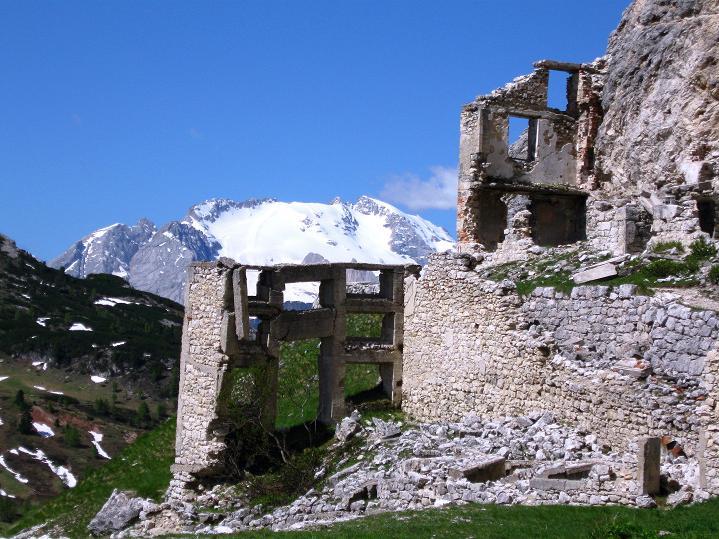 Foto: Andreas Koller / Klettersteig Tour / Via ferrata Col dei Bos / Via ferrata della Piramide (2559m) / 19.06.2009 23:40:30