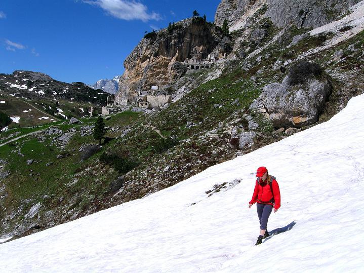 Foto: Andreas Koller / Klettersteig Tour / Via ferrata Col dei Bos / Via ferrata della Piramide (2559m) / 19.06.2009 23:40:21