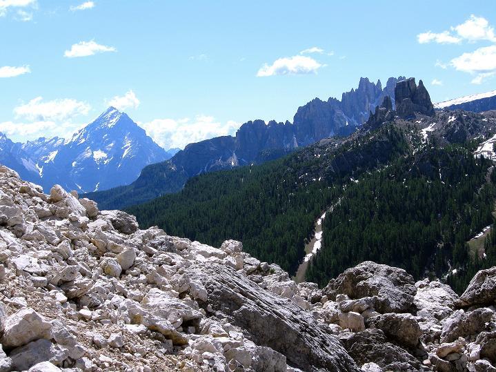 Foto: Andreas Koller / Klettersteig Tour / Via ferrata Col dei Bos / Via ferrata della Piramide (2559m) / 19.06.2009 23:39:57