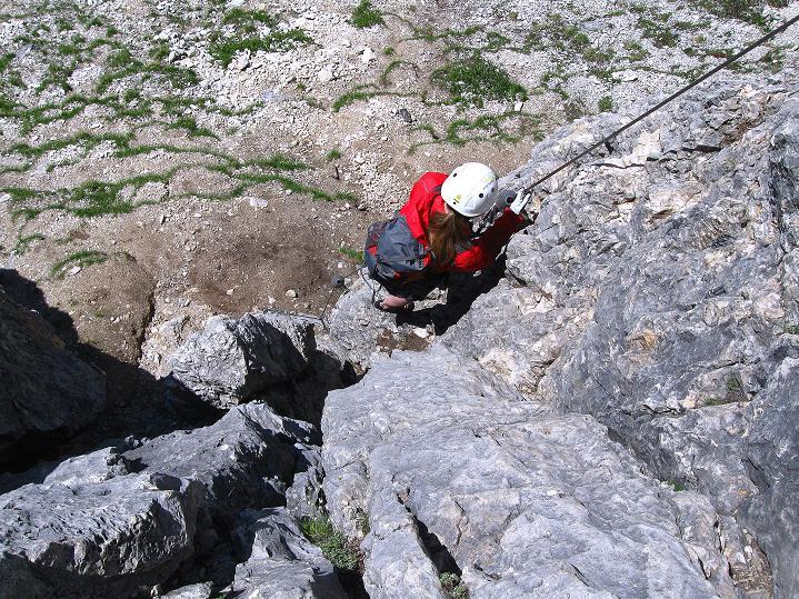 Foto: Andreas Koller / Klettersteig Tour / Via ferrata Col dei Bos / Via ferrata della Piramide (2559m) / 19.06.2009 23:39:16