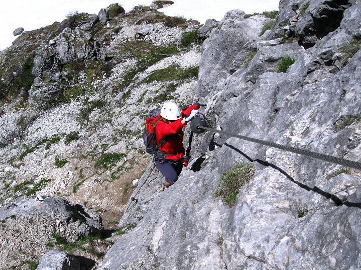 Foto: Andreas Koller / Klettersteig Tour / Via ferrata Col dei Bos / Via ferrata della Piramide (2559m) / 19.06.2009 23:39:08