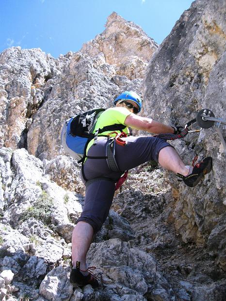 Foto: Andreas Koller / Klettersteig Tour / Via ferrata Col dei Bos / Via ferrata della Piramide (2559m) / 19.06.2009 23:38:32