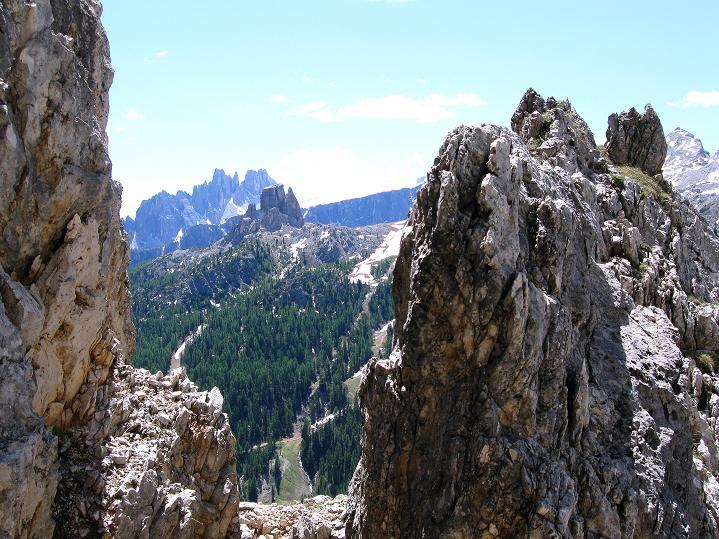 Foto: Andreas Koller / Klettersteig Tour / Via ferrata Col dei Bos / Via ferrata della Piramide (2559m) / 19.06.2009 23:38:23