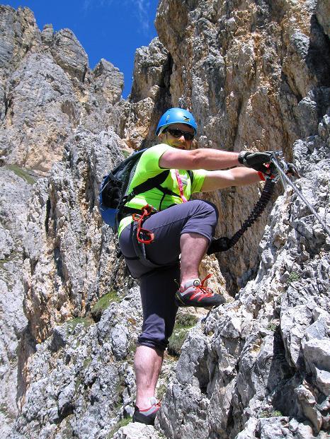 Foto: Andreas Koller / Klettersteig Tour / Via ferrata Col dei Bos / Via ferrata della Piramide (2559m) / 19.06.2009 23:38:15