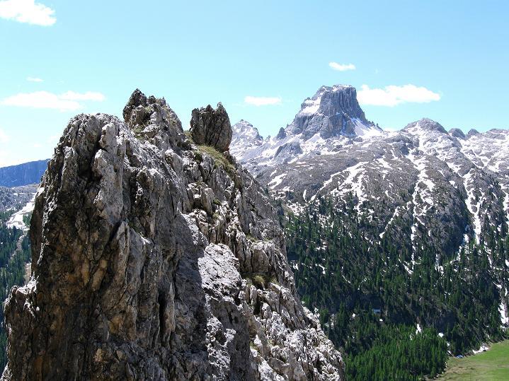Foto: Andreas Koller / Klettersteig Tour / Via ferrata Col dei Bos / Via ferrata della Piramide (2559m) / 19.06.2009 23:38:03