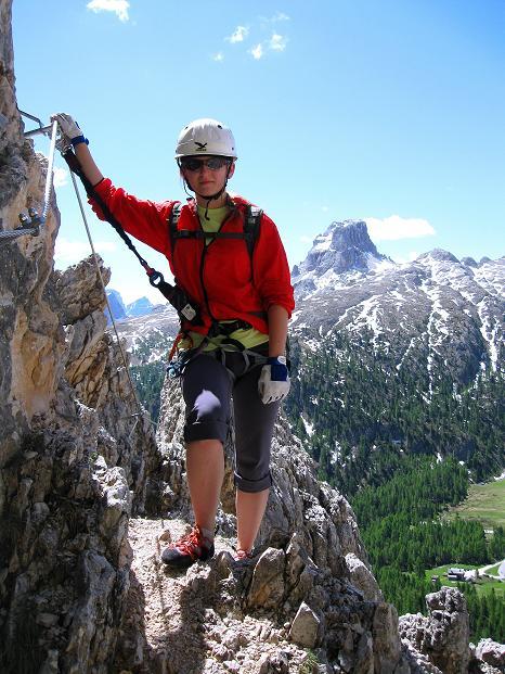 Foto: Andreas Koller / Klettersteig Tour / Via ferrata Col dei Bos / Via ferrata della Piramide (2559m) / 19.06.2009 23:37:55