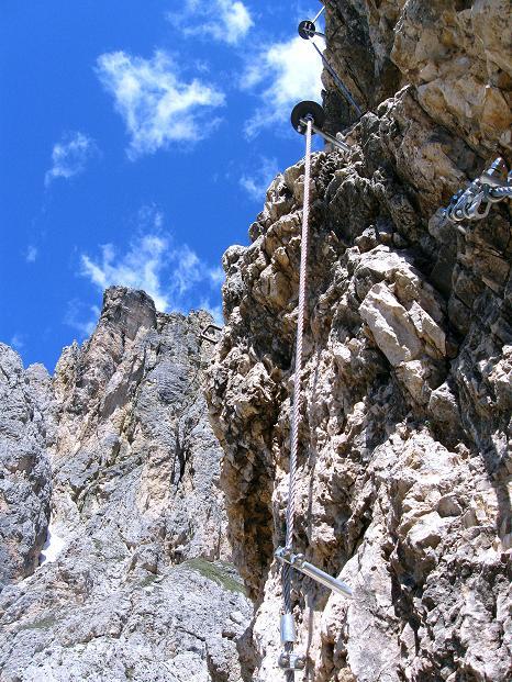 Foto: Andreas Koller / Klettersteig Tour / Via ferrata Col dei Bos / Via ferrata della Piramide (2559m) / 19.06.2009 23:37:11