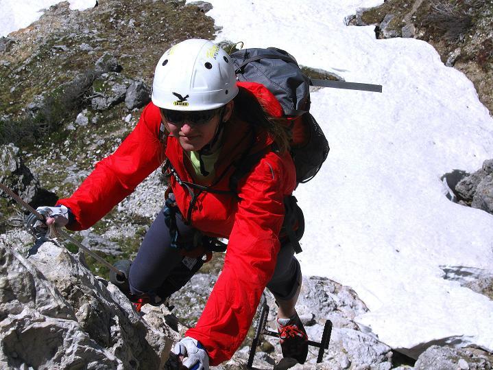 Foto: Andreas Koller / Klettersteig Tour / Via ferrata Col dei Bos / Via ferrata della Piramide (2559m) / 19.06.2009 23:36:25