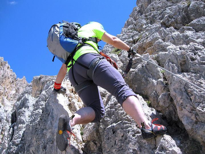 Foto: Andreas Koller / Klettersteig Tour / Via ferrata Col dei Bos / Via ferrata della Piramide (2559m) / 19.06.2009 23:36:17
