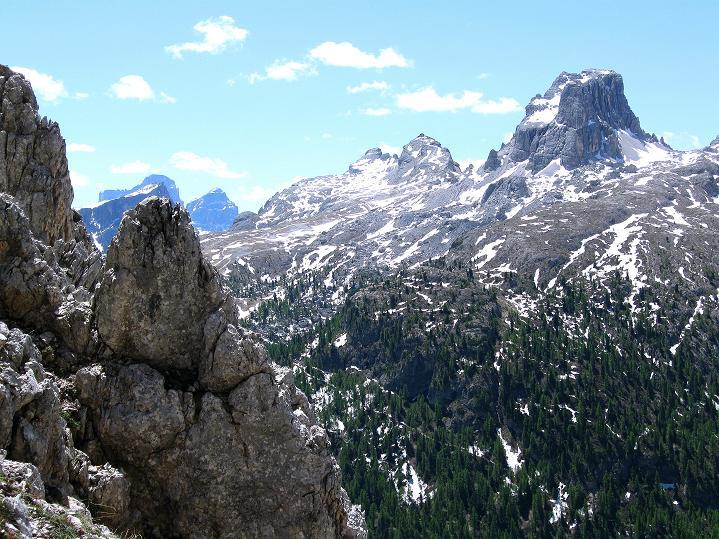 Foto: Andreas Koller / Klettersteig Tour / Via ferrata Col dei Bos / Via ferrata della Piramide (2559m) / 19.06.2009 23:36:08
