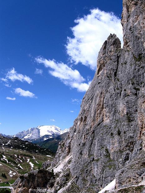 Foto: Andreas Koller / Klettersteig Tour / Via ferrata Col dei Bos / Via ferrata della Piramide (2559m) / 19.06.2009 23:35:59