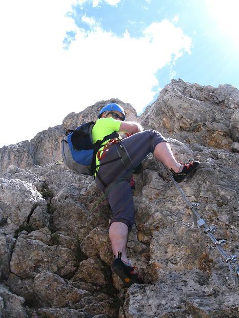 Foto: Andreas Koller / Klettersteig Tour / Via ferrata Col dei Bos / Via ferrata della Piramide (2559m) / 19.06.2009 23:35:49
