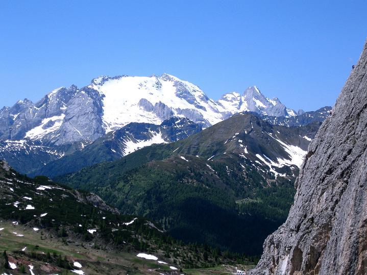 Foto: Andreas Koller / Klettersteig Tour / Via ferrata Col dei Bos / Via ferrata della Piramide (2559m) / 19.06.2009 23:32:59