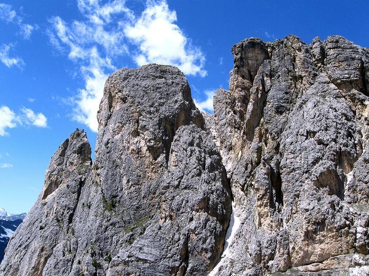 Foto: Andreas Koller / Klettersteig Tour / Via ferrata Col dei Bos / Via ferrata della Piramide (2559m) / 19.06.2009 23:32:40