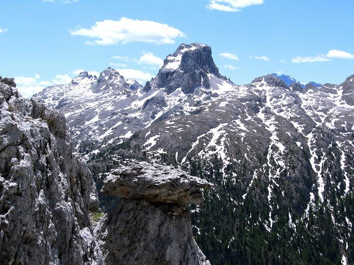 Foto: Andreas Koller / Klettersteig Tour / Via ferrata Col dei Bos / Via ferrata della Piramide (2559m) / 19.06.2009 23:32:26