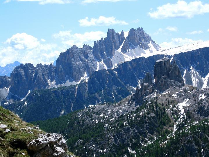 Foto: Andreas Koller / Klettersteig Tour / Via ferrata Col dei Bos / Via ferrata della Piramide (2559m) / 19.06.2009 23:31:49