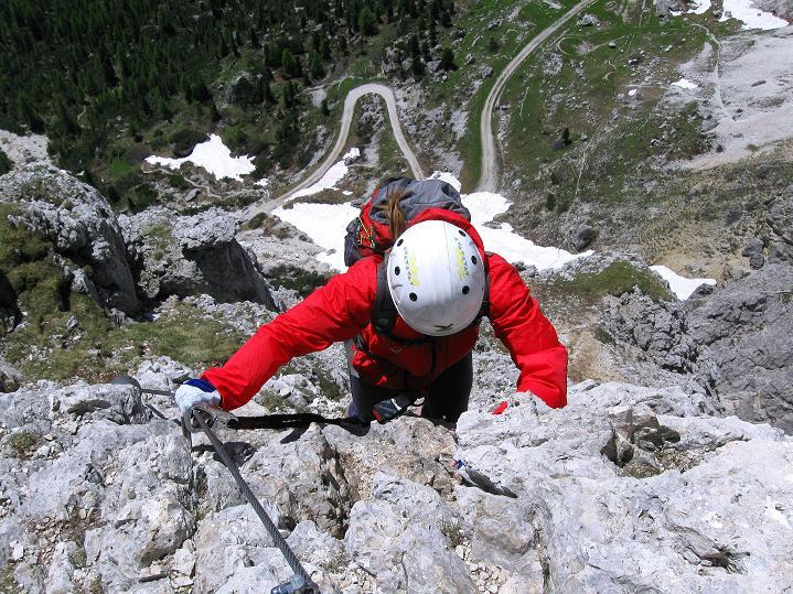Foto: Andreas Koller / Klettersteig Tour / Via ferrata Col dei Bos / Via ferrata della Piramide (2559m) / 19.06.2009 23:31:20