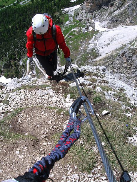 Foto: Andreas Koller / Klettersteig Tour / Via ferrata Col dei Bos / Via ferrata della Piramide (2559m) / 19.06.2009 23:31:11