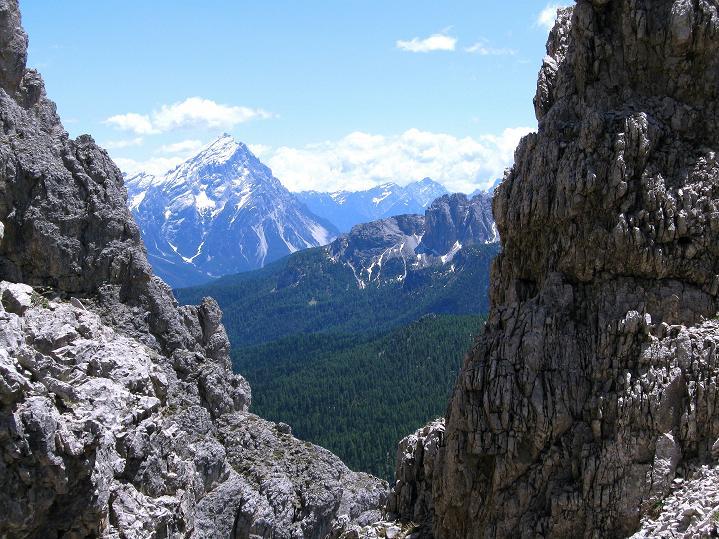 Foto: Andreas Koller / Klettersteig Tour / Via ferrata Col dei Bos / Via ferrata della Piramide (2559m) / 19.06.2009 23:29:45