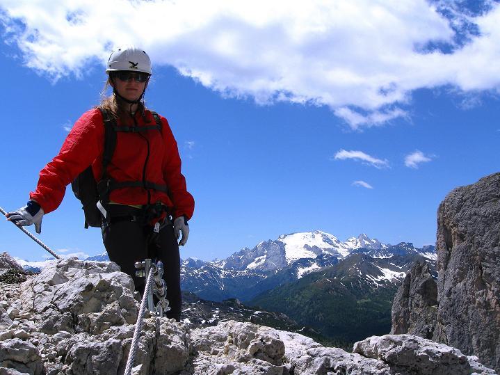 Foto: Andreas Koller / Klettersteig Tour / Via ferrata Col dei Bos / Via ferrata della Piramide (2559m) / 19.06.2009 23:29:35