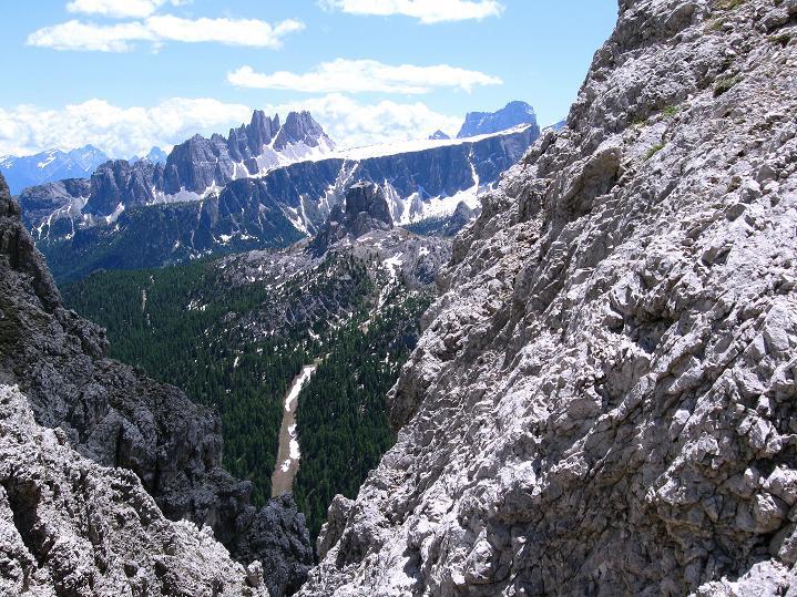 Foto: Andreas Koller / Klettersteig Tour / Via ferrata Col dei Bos / Via ferrata della Piramide (2559m) / 19.06.2009 23:29:15