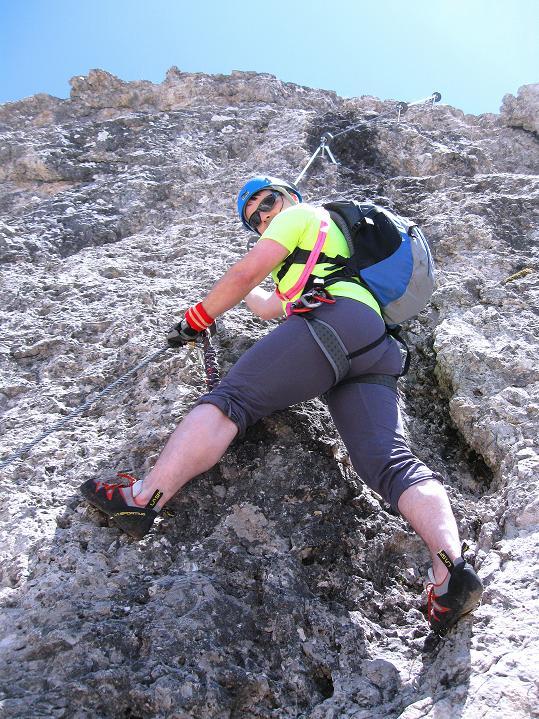 Foto: Andreas Koller / Klettersteig Tour / Via ferrata Col dei Bos / Via ferrata della Piramide (2559m) / 19.06.2009 23:28:36