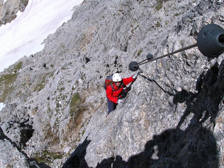 Foto: Andreas Koller / Klettersteig Tour / Via ferrata Col dei Bos / Via ferrata della Piramide (2559m) / 19.06.2009 23:28:26