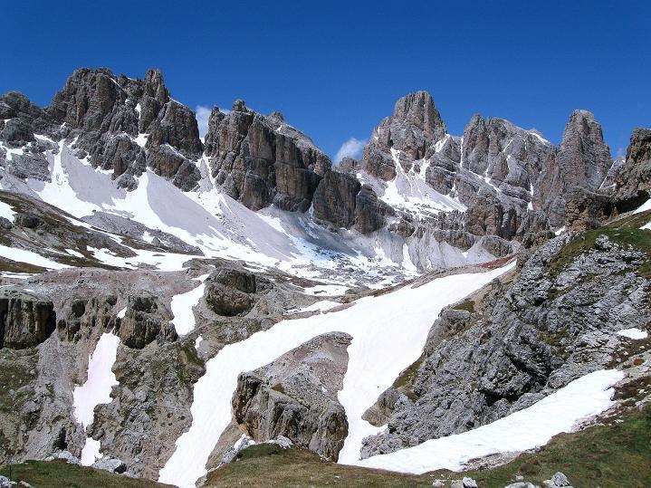 Foto: Andreas Koller / Klettersteig Tour / Via ferrata Col dei Bos / Via ferrata della Piramide (2559m) / Die Fanes / 19.06.2009 23:27:48