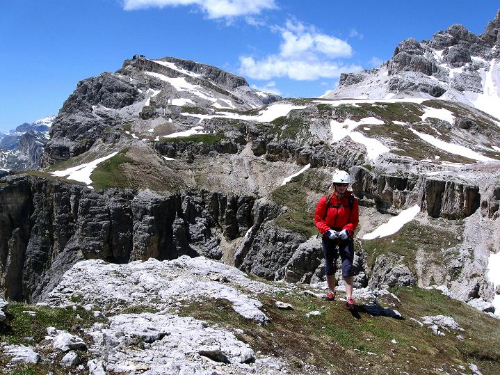 Foto: Andreas Koller / Klettersteig Tour / Via ferrata Col dei Bos / Via ferrata della Piramide (2559m) / 19.06.2009 23:27:34