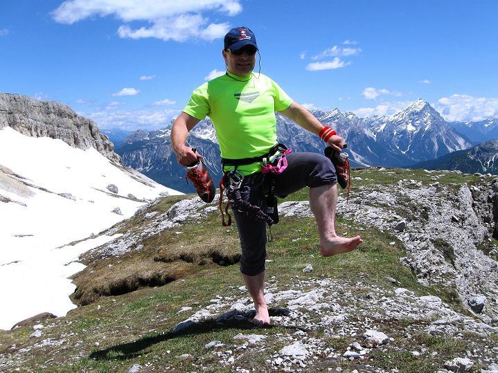 Foto: Andreas Koller / Klettersteig Tour / Via ferrata Col dei Bos / Via ferrata della Piramide (2559m) / 19.06.2009 23:27:02