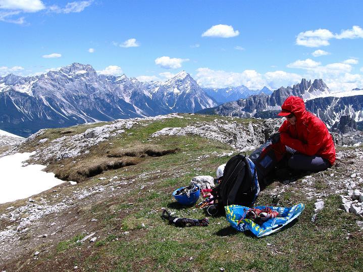 Foto: Andreas Koller / Klettersteig Tour / Via ferrata Col dei Bos / Via ferrata della Piramide (2559m) / 19.06.2009 23:26:50