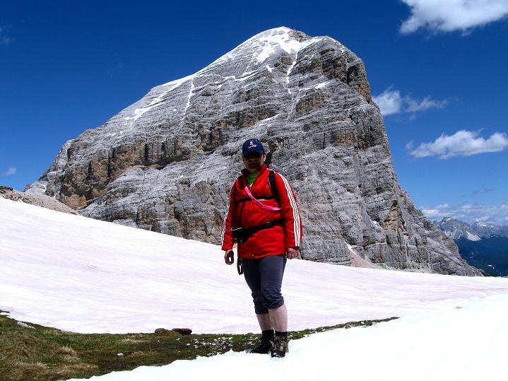 Foto: Andreas Koller / Klettersteig Tour / Via ferrata Col dei Bos / Via ferrata della Piramide (2559m) / 19.06.2009 23:25:48