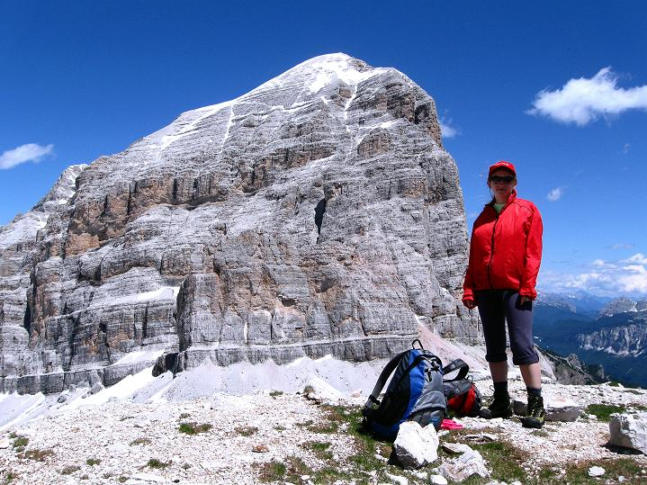 Foto: Andreas Koller / Klettersteig Tour / Via ferrata Col dei Bos / Via ferrata della Piramide (2559m) / Tofana di Rozes (3225 m) / 19.06.2009 23:25:02