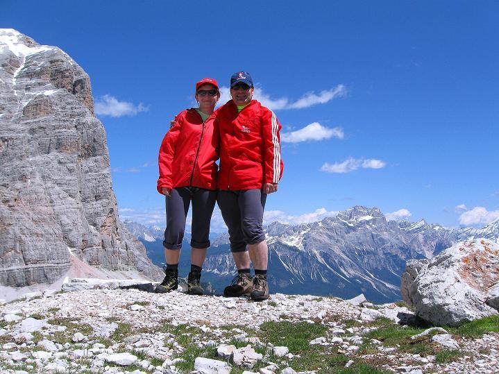 Foto: Andreas Koller / Klettersteig Tour / Via ferrata Col dei Bos / Via ferrata della Piramide (2559m) / 19.06.2009 23:24:38