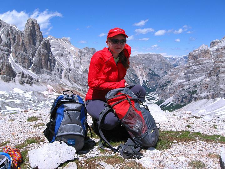 Foto: Andreas Koller / Klettersteig Tour / Via ferrata Col dei Bos / Via ferrata della Piramide (2559m) / 19.06.2009 23:24:30