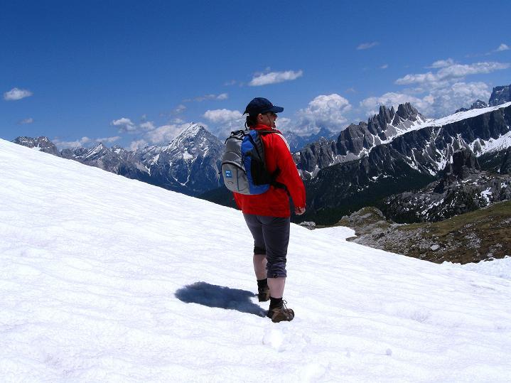 Foto: Andreas Koller / Klettersteig Tour / Via ferrata Col dei Bos / Via ferrata della Piramide (2559m) / 19.06.2009 23:24:02