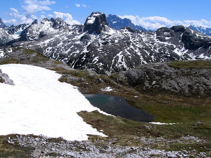 Foto: Andreas Koller / Klettersteig Tour / Via ferrata Col dei Bos / Via ferrata della Piramide (2559m) / 19.06.2009 23:23:53