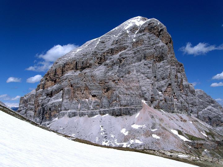 Foto: Andreas Koller / Klettersteig Tour / Via ferrata Col dei Bos / Via ferrata della Piramide (2559m) / Tofana di Rozes (3225 m) / 19.06.2009 23:23:35