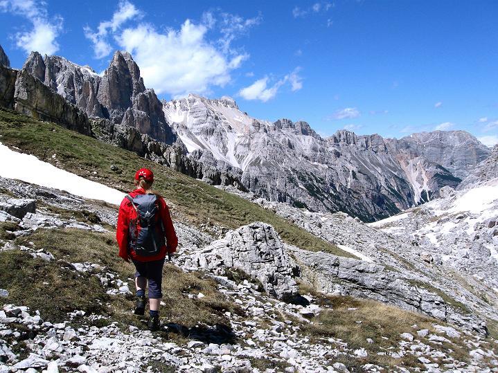 Foto: Andreas Koller / Klettersteig Tour / Via ferrata Col dei Bos / Via ferrata della Piramide (2559m) / 19.06.2009 23:23:18