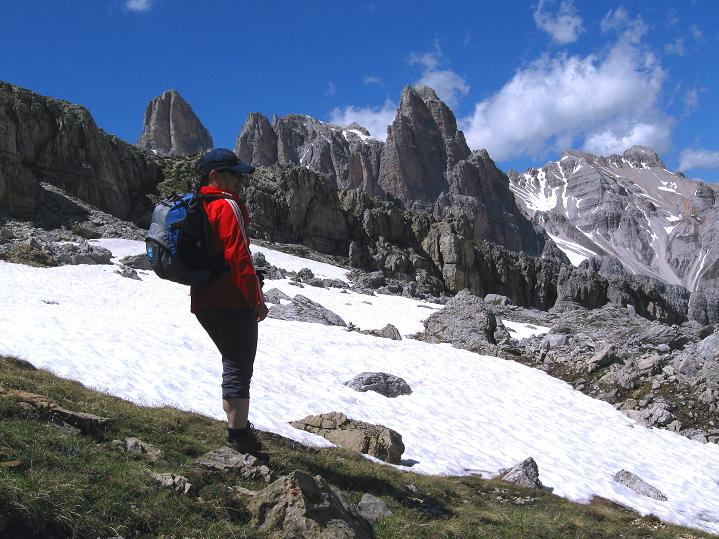 Foto: Andreas Koller / Klettersteig Tour / Via ferrata Col dei Bos / Via ferrata della Piramide (2559m) / 19.06.2009 23:23:08