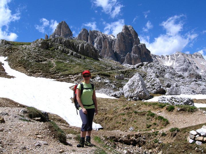 Foto: Andreas Koller / Klettersteig Tour / Via ferrata Col dei Bos / Via ferrata della Piramide (2559m) / 19.06.2009 23:22:38