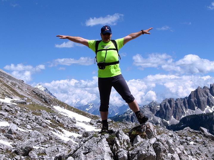 Foto: Andreas Koller / Klettersteig Tour / Via ferrata Col dei Bos / Via ferrata della Piramide (2559m) / 19.06.2009 23:22:26