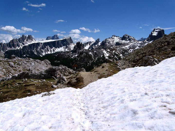 Foto: Andreas Koller / Klettersteig Tour / Via ferrata Col dei Bos / Via ferrata della Piramide (2559m) / 19.06.2009 23:22:18